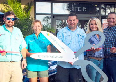gulf coast rentals ribbon cutting